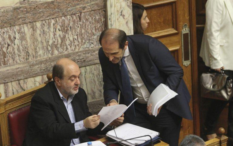 Πρακτικά από την απάντηση του Αν. Υπουργού Οικονομικών Τρ. Αλεξιάδη σε επίκαιρη ερώτηση του βουλευτή Δ. Καμμένου (18.4.2016)