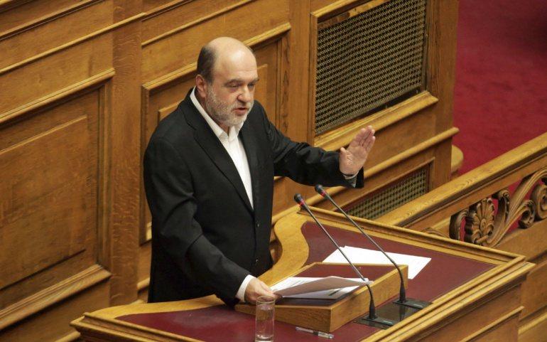Πρακτικά από την απάντηση του ΑΝΥΠΟΙΚ Τρ. Αλεξιάδη σε επίκαιρη ερώτηση του βουλευτή Γ. Βλάχου