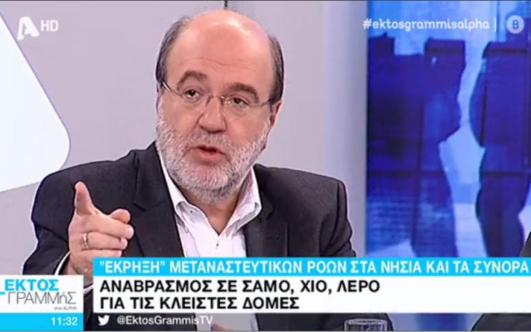 Όσοι μιλουν για ξερονησια δεν εχουν καμια σχεση ουτε με τον ελληνικο πολιτισμο, ουτε με τη χριστιανικη θρησκεια