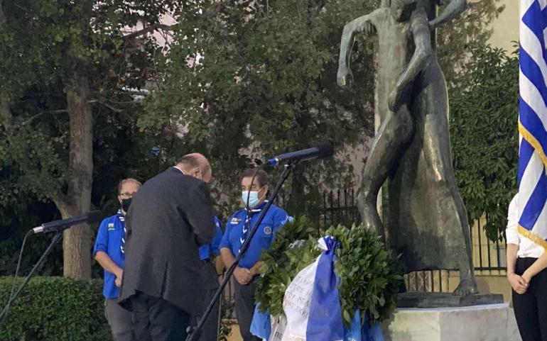 Εκδηλωσεις τιμης και μνημης για τους Εκτελεσμενους του Μαρτυρικου Μπλοκου της Κοκκινιας «40 μερες μετα…».